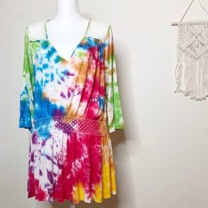 RE/DESIGNED | 🌈 Rainbow Free People Tunic